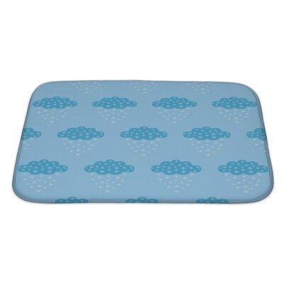 Primo Tender Clouds Bath Rug Size: Large