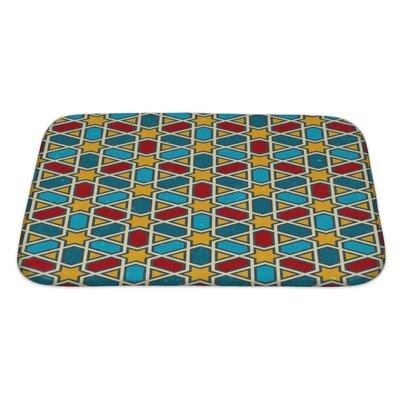 Kilo Moroccan Geometric Pattern Bath Rug Size: Large