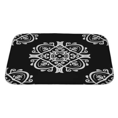 Primo Traditional Oriental Elements Bath Rug Size: Large