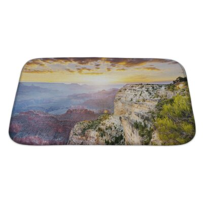 Landscapes Hopi Point, Grand Canyon National Park Bath Rug Size: Large