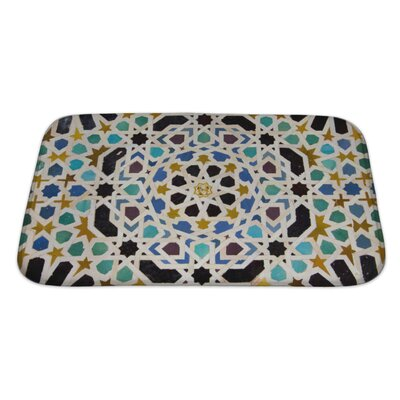 Beta Courtyard of Machuca, Nasrid Palace Bath Rug Size: Large
