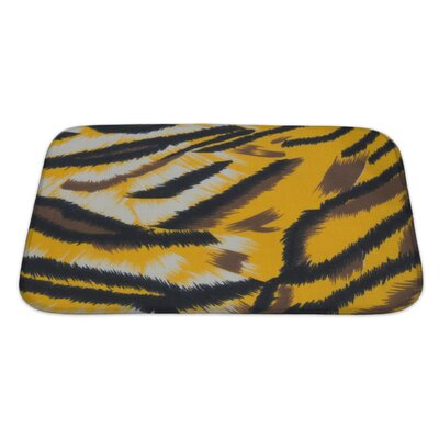 Animals Tiger Bath Rug Size: Large