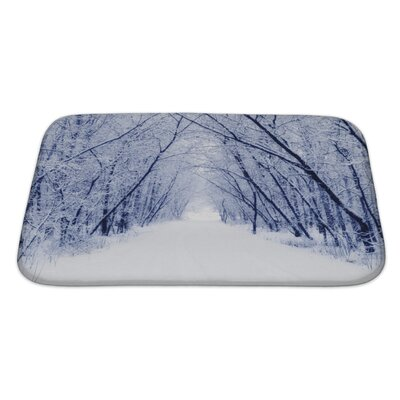 Landscapes Winter Bath Rug Size: Large