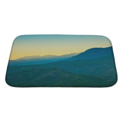 Landscapes Landscape in the Mountains Turkey Bath Rug Size: Large