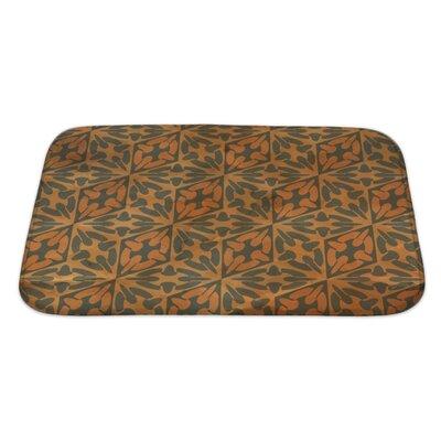 Gamma Vintage Pattern Geometric Bath Rug Size: Large