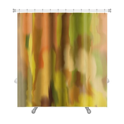 Art Beta Blur Abstract Style as Early Impressionism Premium Shower Curtain