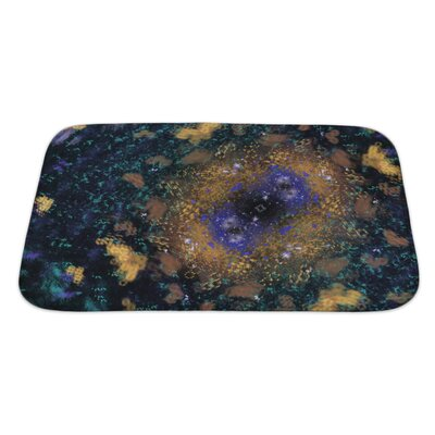 Gecko a Digitally Generated Fractal Bath Rug Size: Large