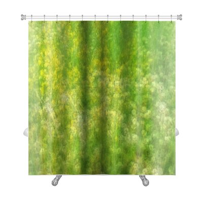 Bravo Field with Wildflowers Premium Shower Curtain