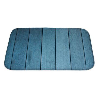 Wood Decking Bath Rug Size: Large