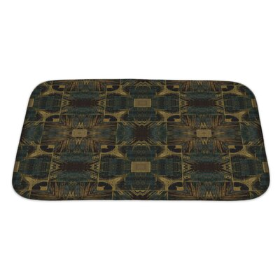 Bravo Nouveau Ornamental Bath Rug Size: Large