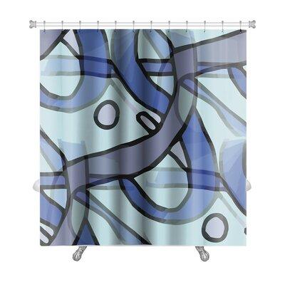Gecko America Ancient Wallpaper Cubism Impressionism Premium Shower Curtain