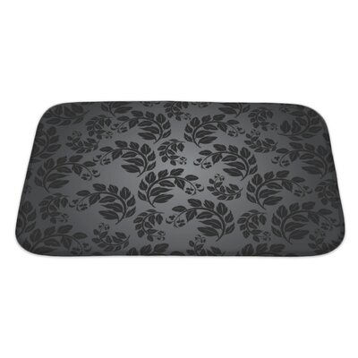 Cappa Beautiful Nature Leaf Pattern Bath Rug Size: Large