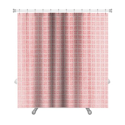 Gecko Plaid Premium Shower Curtain