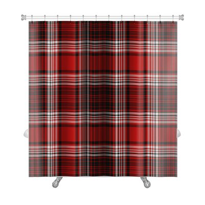 Picnic Bright, Bold Plaid Premium Shower Curtain