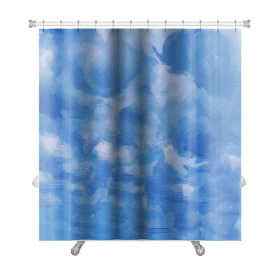 Nature Sky and Clouds Shower Curtain