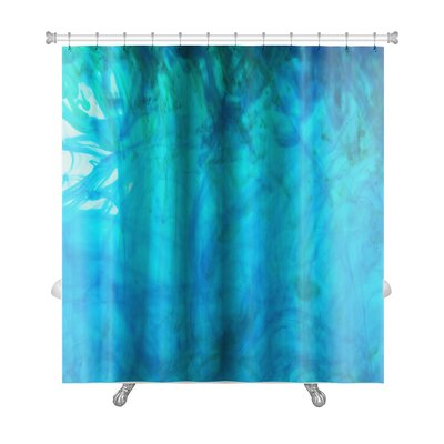 Art Primo Ink in Water Premium Shower Curtain
