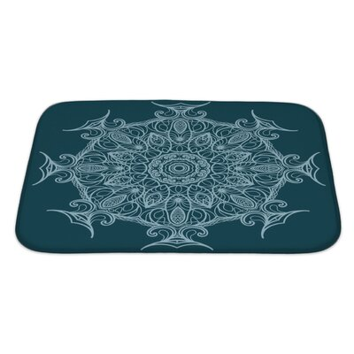 Delta Circular Ornament Bath Rug Size: Large