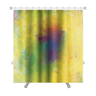 Art Alpha Unusual Color Mosaic Premium Shower Curtain
