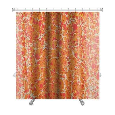 Primo Turkish Ebru Painting Premium Shower Curtain