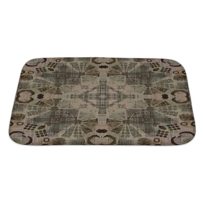 Primo Ornamental Vintage Pattern Bath Rug Size: Large