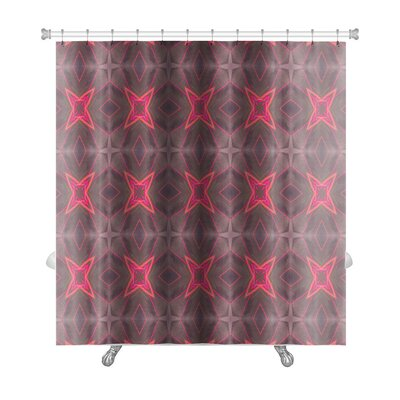 Simple Ethnic Kaleidoscope Premium Shower Curtain