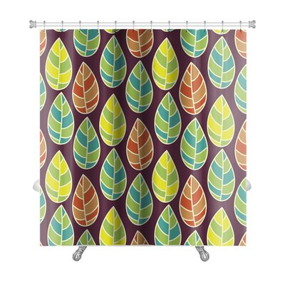 Leaves Beautiful Leaf Premium Shower Curtain