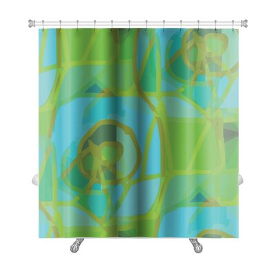 Gecko America Ancient Wallpaper Cubism Impressionism Premium Shower Curtain