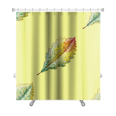 Leaves Autumn Variation Premium Shower Curtain