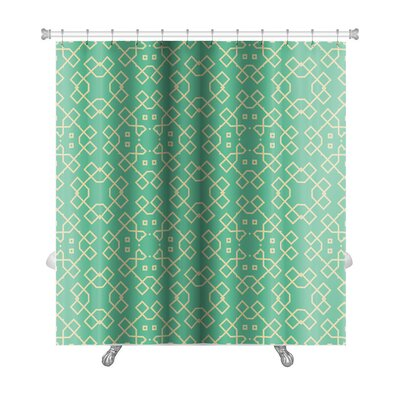 Creek Geometrical Premium Shower Curtain