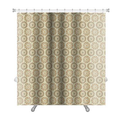 Charlie Arabic or Islamic Ornaments Style Premium Shower Curtain