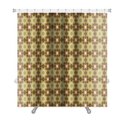 Delta Kaleidoscope Premium Shower Curtain