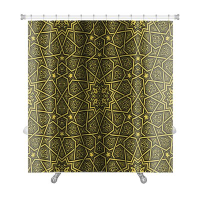 Creek Islamic Ornament Premium Shower Curtain