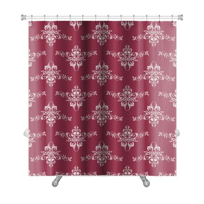 Slide Rotated Anchors Premium Shower Curtain