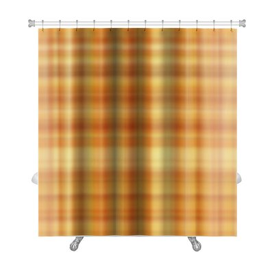Cappa Plaid Premium Shower Curtain