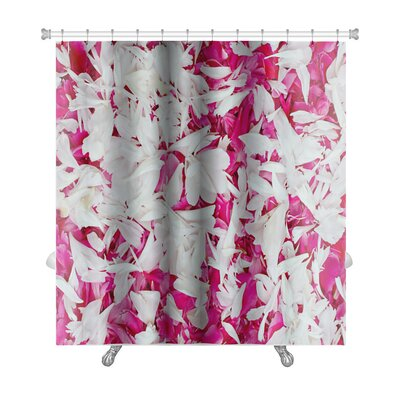 Simple Petal Premium Shower Curtain