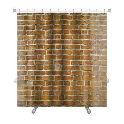 Primo Stone Wall Premium Shower Curtain