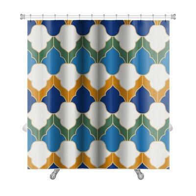 Gamma Islamic Geometric Premium Shower Curtain
