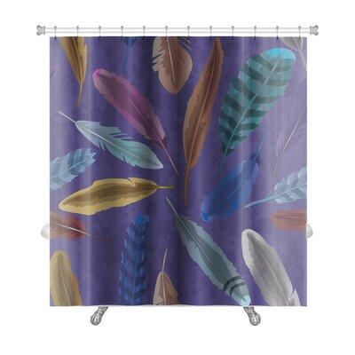 Tribal Feather Premium Shower Curtain