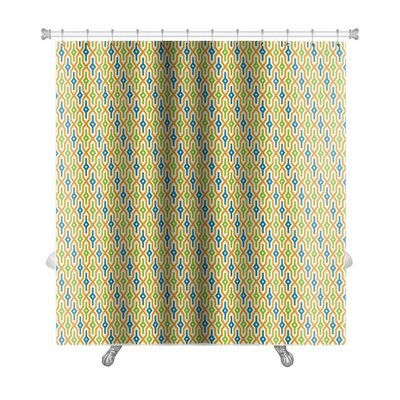 Primo Arabic Geometric Premium Shower Curtain
