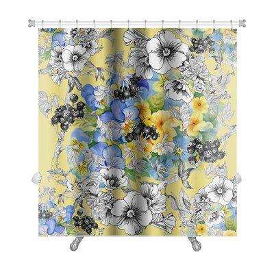 Kilo Floral Premium Shower Curtain