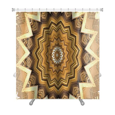 Primo Kaleidoscope Premium Shower Curtain