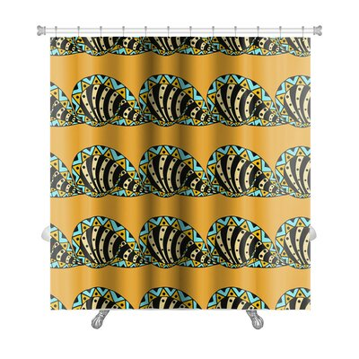 Slide Abstract Pattern Hand Drawn Premium Shower Curtain