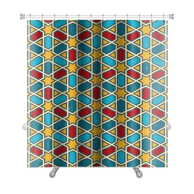 Kilo Moroccan Geometric Premium Shower Curtain