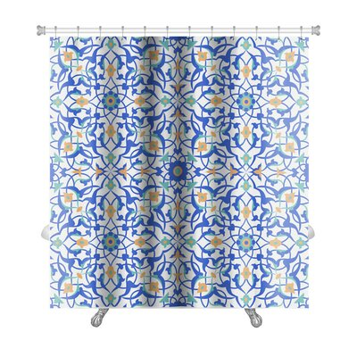 Kilo Pattern in Islamic Style Premium Shower Curtain