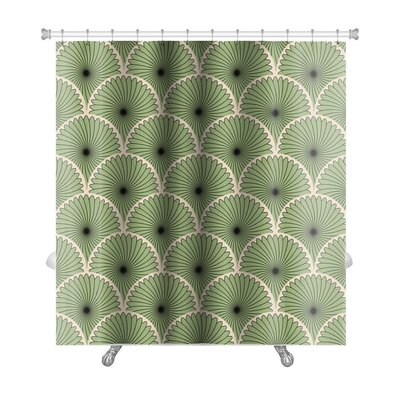Simple Pattern Abstract Stylish Motif Premium Shower Curtain