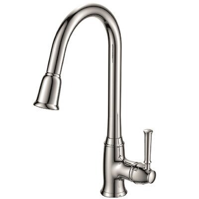 Pull Down Bar Faucet Finish: Chrome