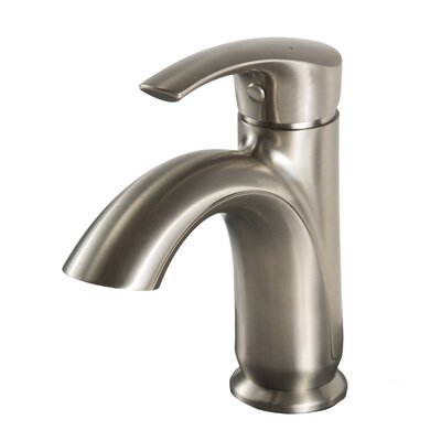 Hale Series Single Handle Faucet Finish: Brushed Nickel