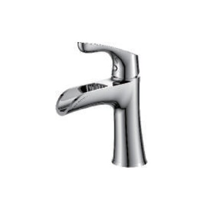Single Handle Bathroom Faucet with Drain Assembly Finish: Oil Rubbed Bronze and Rose Gold