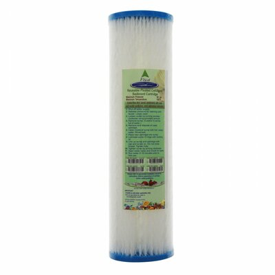 Reusable Pleated Water Filter Cartridge