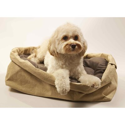 Beautifool Pet Eco-Friendly Ecofool Dog Bed Size: Large, Color: Tea